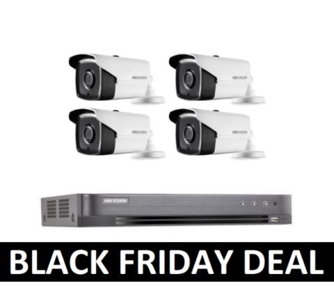 Hikvision POC Kit: DVR & 4 x 3.6mm Cameras BF [2-3060]