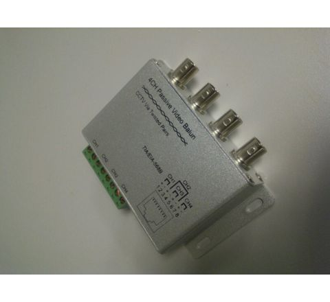 Balun Video 4 Channel Passive Video Transmitter or Receiver