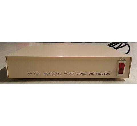 Distributor Video & Audio 1 Input 4 Output