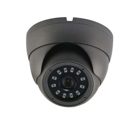 Vandalproof Dome IR Camera 3.6mm 5MP Sony Starvis AHD/TVI/CVI/CVBS GREY [3122-G]