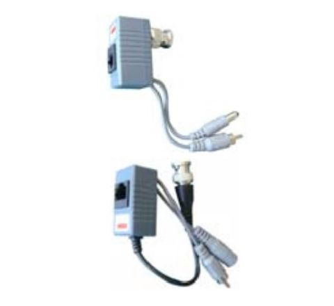 1 Channel HD passive video balun (With Audio) [Sold as PAIR] [3163]