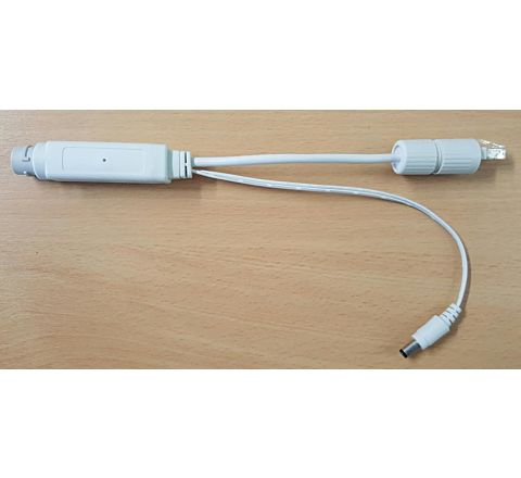 White POE Splitter IP3251