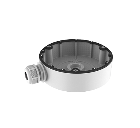 Hikvision DS-1280ZJ-DM8 IP Turret Deep Base Bracket White [3525]