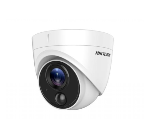 Hikvision DS-2CE71H0T-PIRLO 5MP PIR Turret Camera 2.8mm [3823]