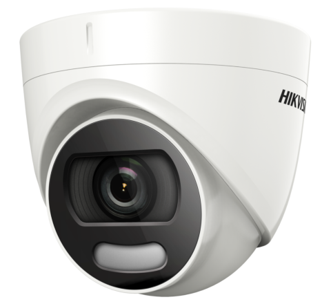 Hikvision DS-2CE72HFT-E 2.8mm 5MP ColorVu POC Dome Turret Camera