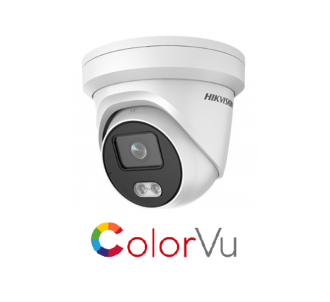 Hikvision IP ColorVu Turret DS-2CD2347G1-L 4mm Full Time Colour Camera [3829]