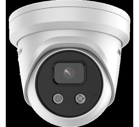 Hikvision DS-2CD2386G2-IU 2.8mm 4K 8MP AcuSense Turret Network Camera [3161-2]