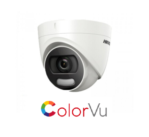 Hikvision ColorVu DS-2CE72DFT-F 2MP Full Time Colour Turret Camera 3.6mm [3821]