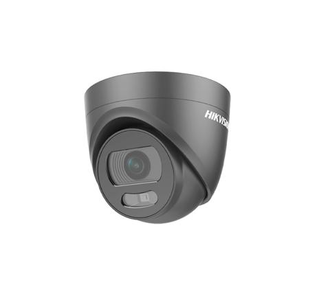 Hikvision DS-2CE72HFT-E/B Black 2.8mm 5MP ColorVu POC Dome Turret Camera [3198-2]